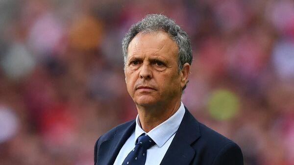 Главный тренер сборной Армении по футболу Хоакин Капаррос