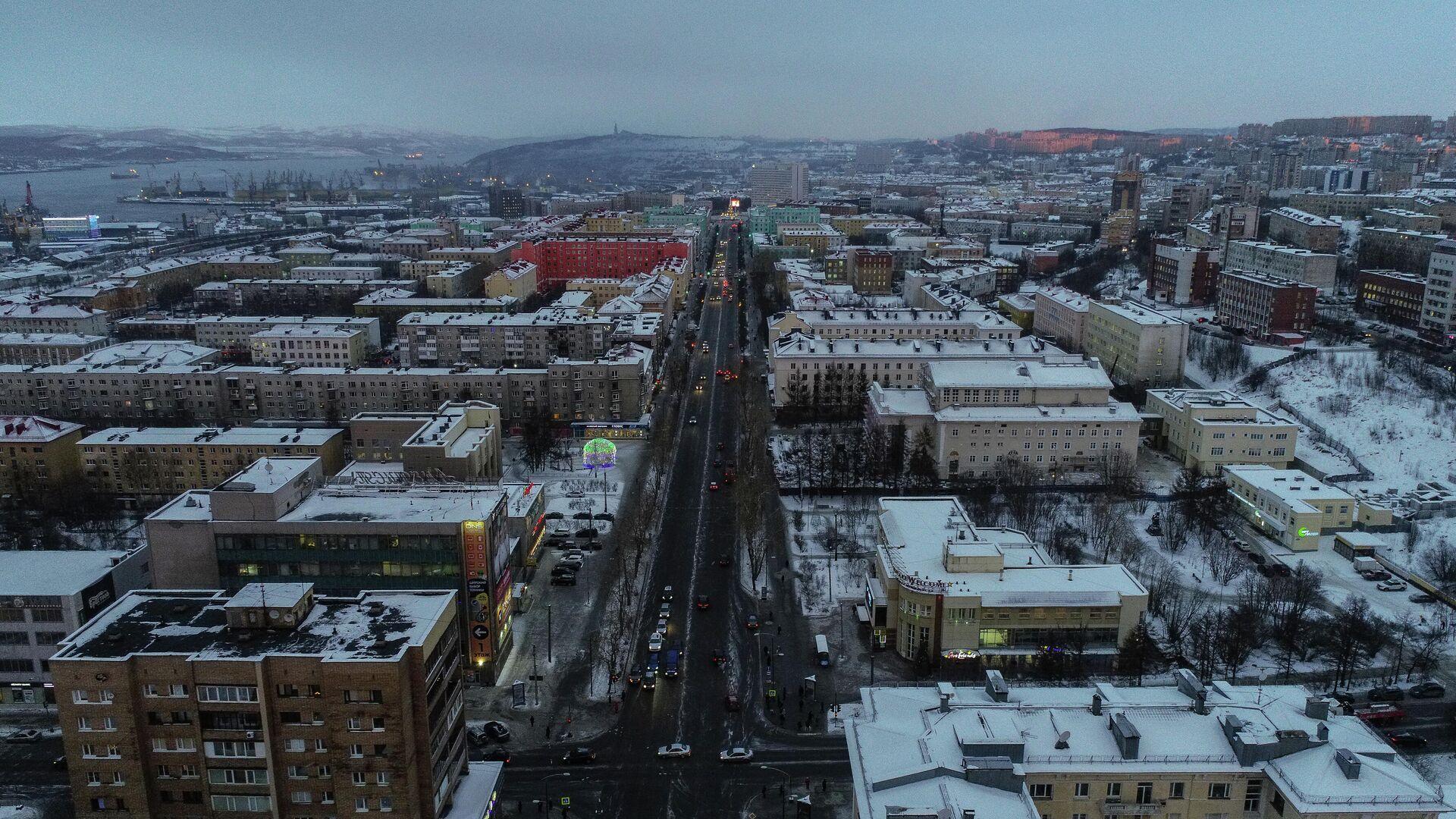 Проспект Ленина в Мурманске - РИА Новости, 1920, 18.03.2021