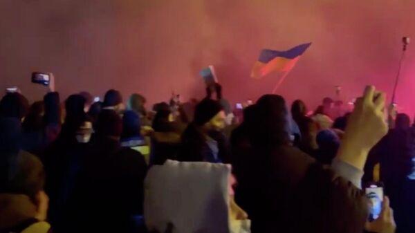 Митинг у офиса президента Украины