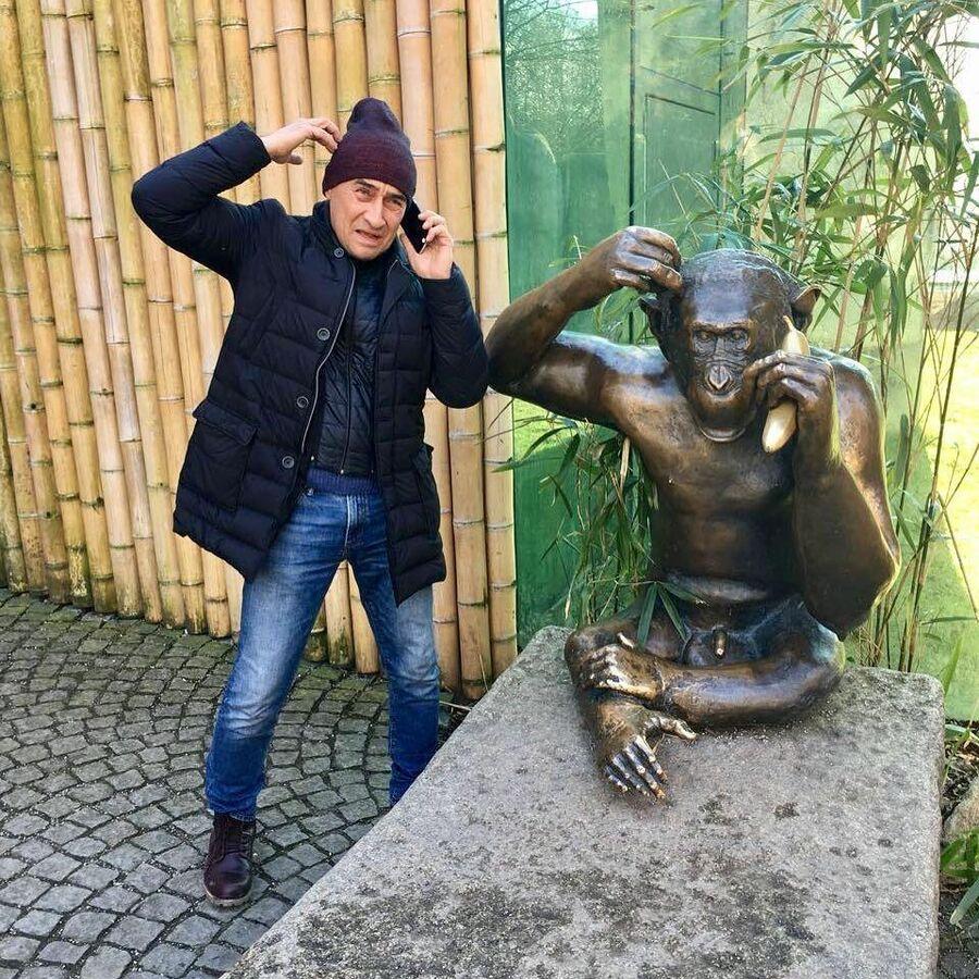 Камиль Ларин в Мюнхенском зоопарке