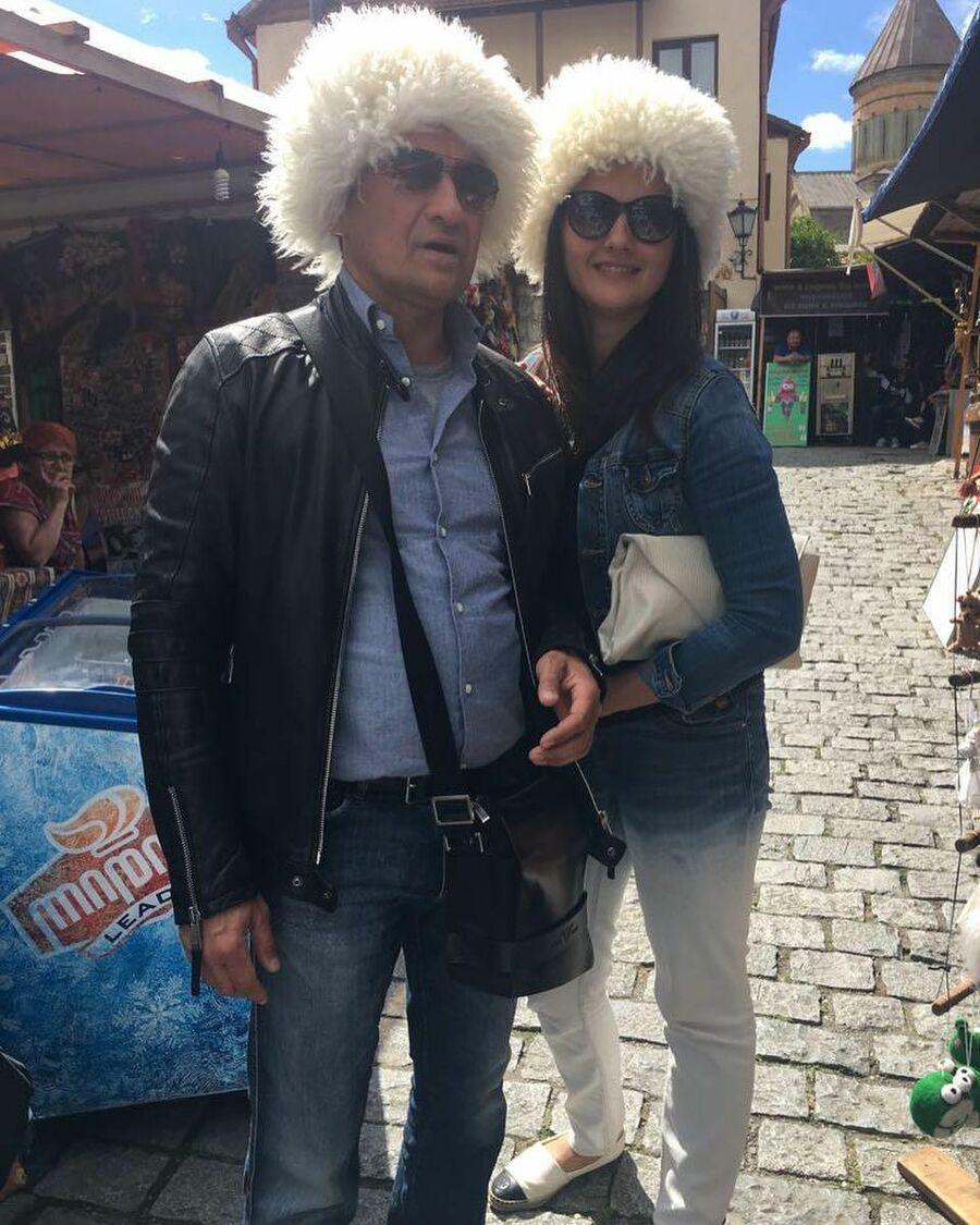 Камиль Ларин и Екатерина в Тбилиси