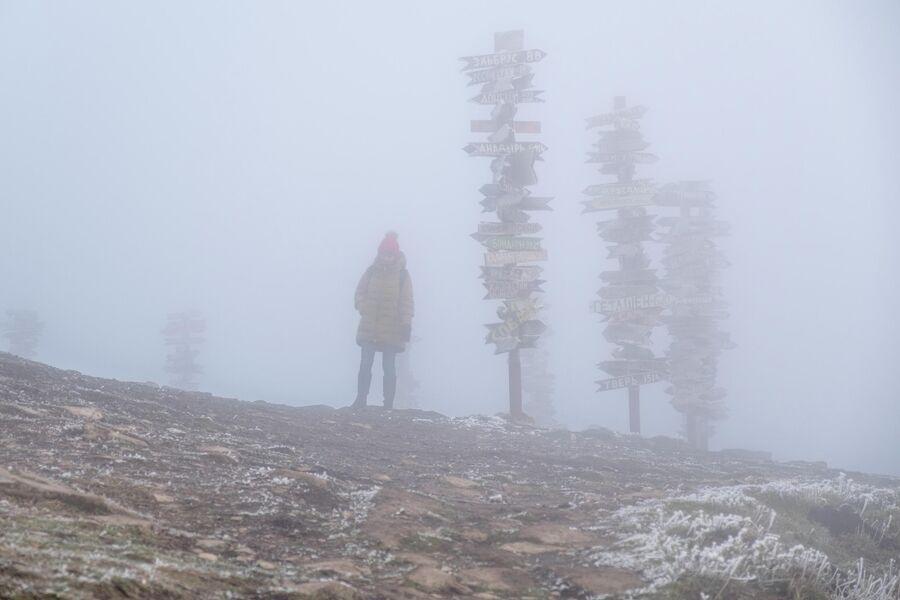 Вершина горы Машук в Пятигорске