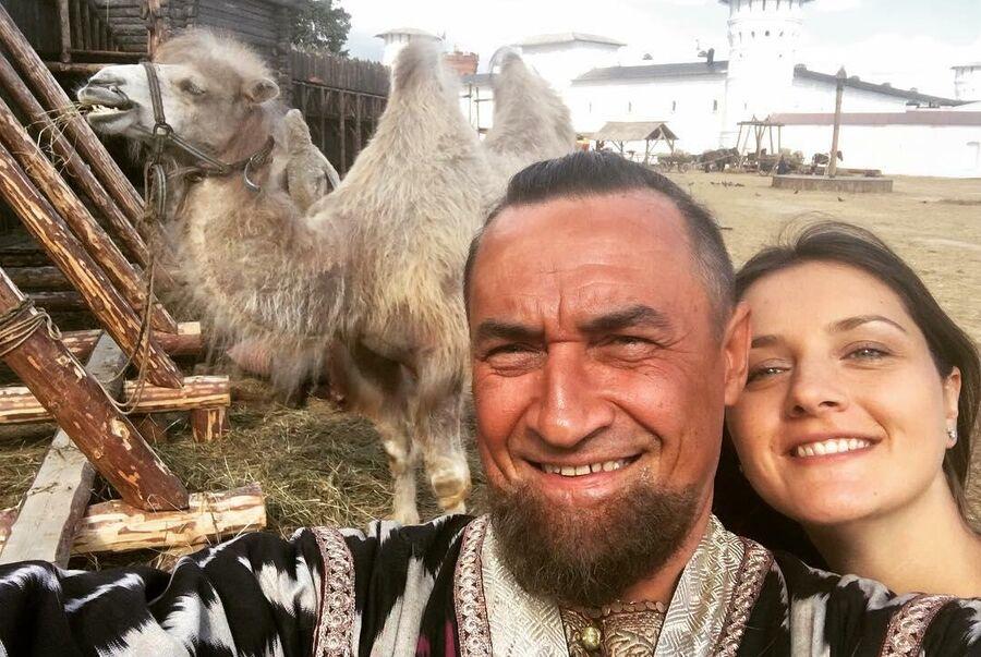 Камиль Ларин и Екатерина в Тобольске