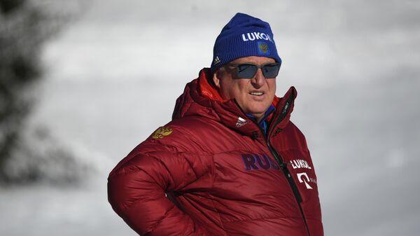 Старший тренер сборной России по лыжным гонкам Юрий Бородавко