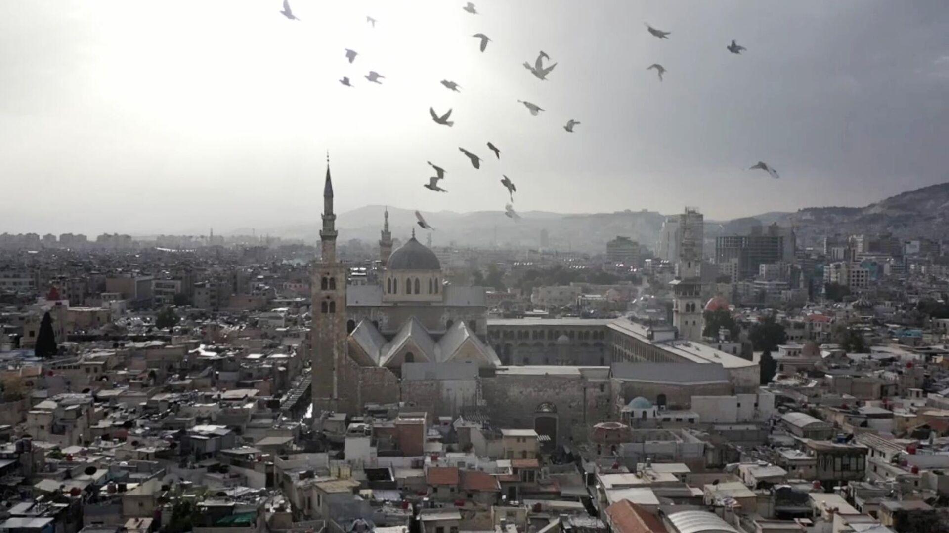 Мечеть Омейядов в Дамаске - РИА Новости, 1920, 24.07.2021