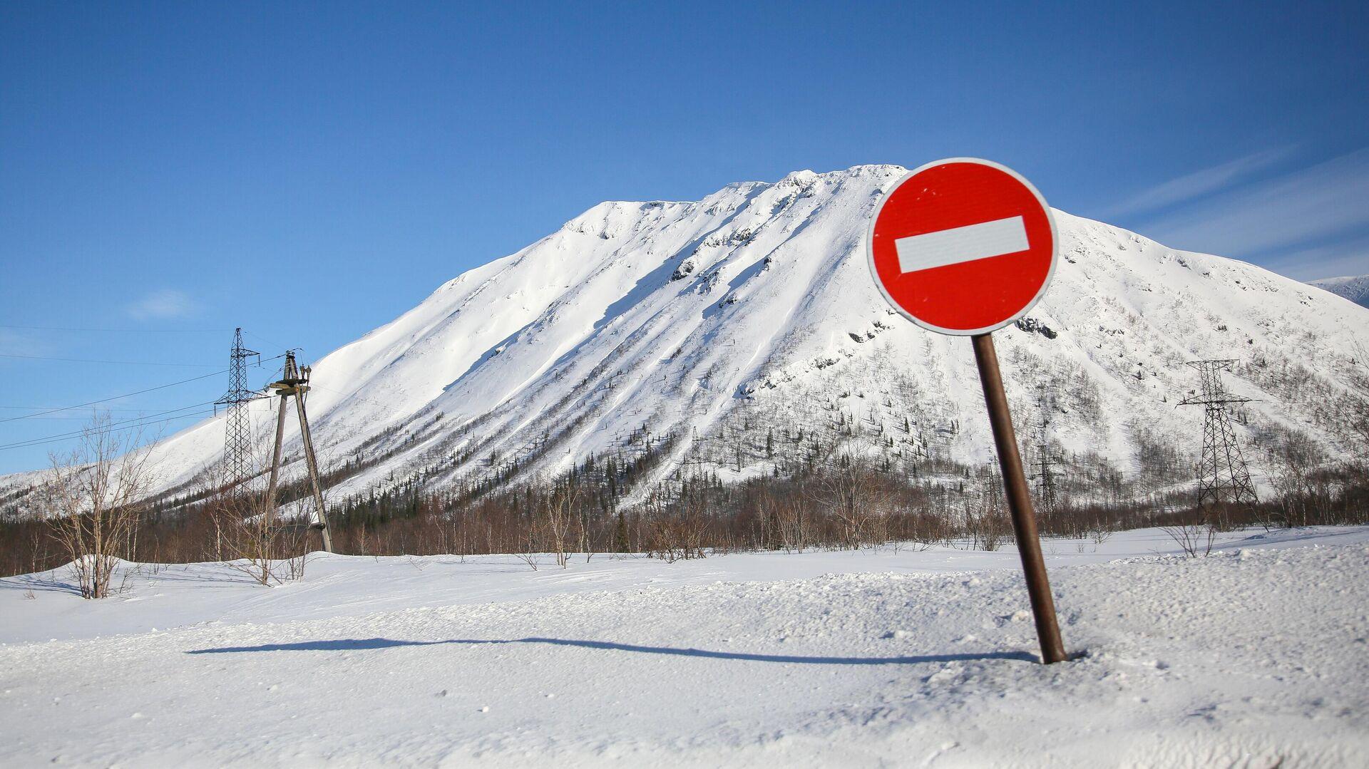 В Северной Осетии группа туристов попала под лавину