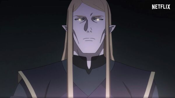 Кадр из аниме-сериала Netflix Dota: Кровь дракона