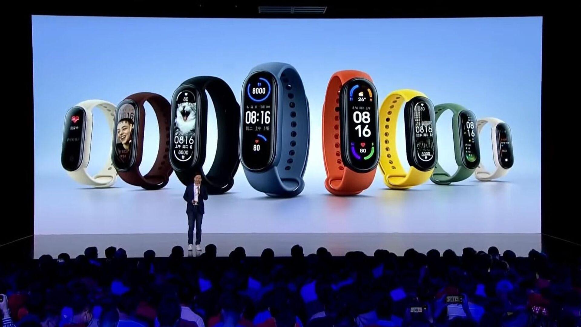 Умному браслету Mi Band 6 достались пульсоксиметр и NFC