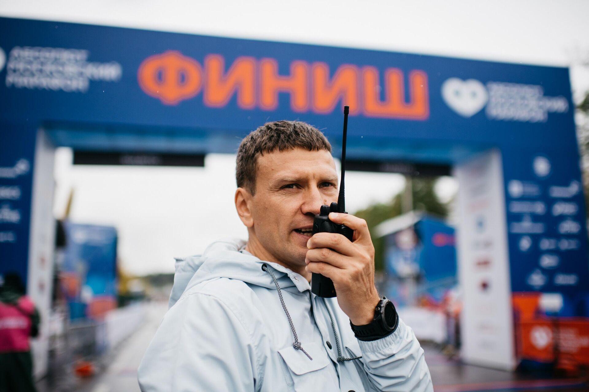 Директор Московского марафона Дмитрий Тарасов - РИА Новости, 1920, 30.03.2021