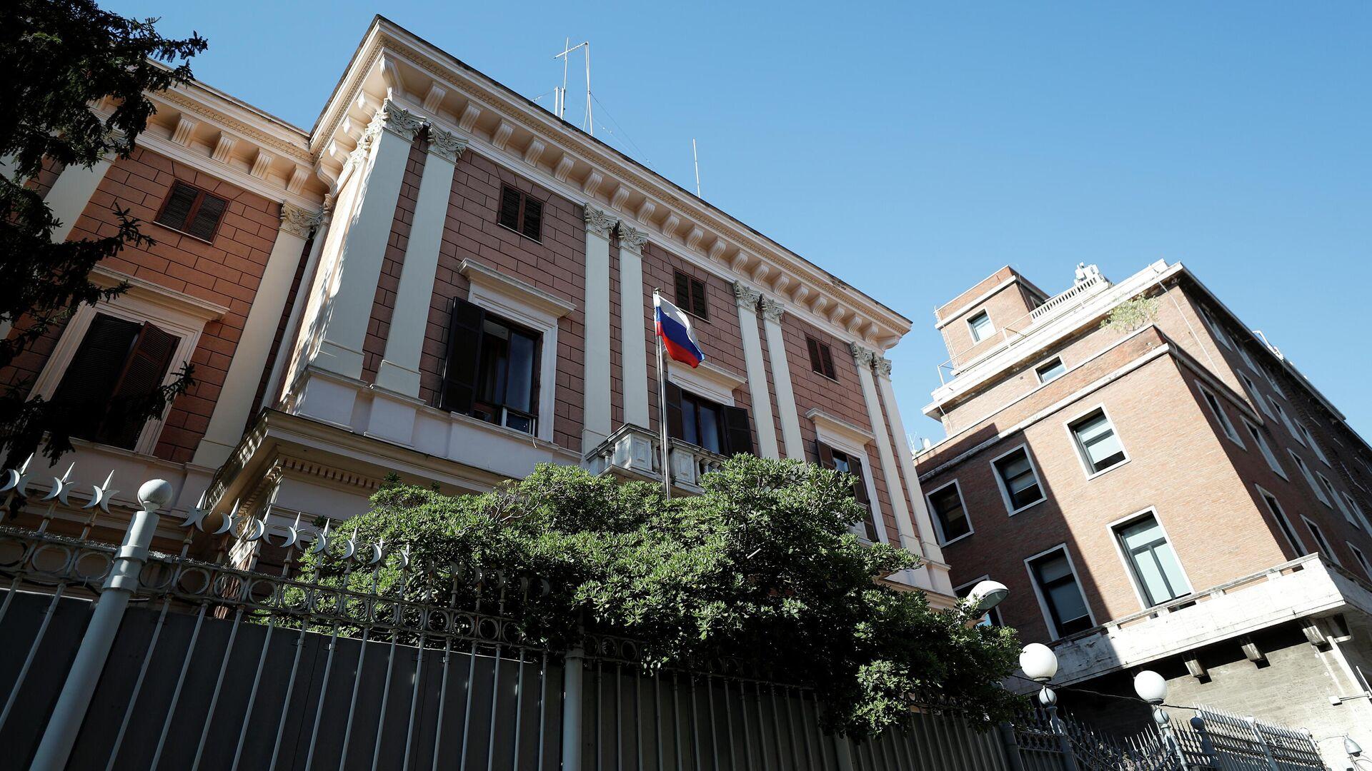 Здание посольства РФ в Риме - РИА Новости, 1920, 31.03.2021