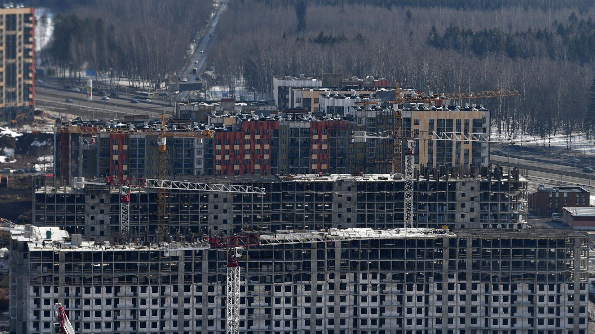 Строительство жилья - РИА Новости, 1920, 08.04.2021