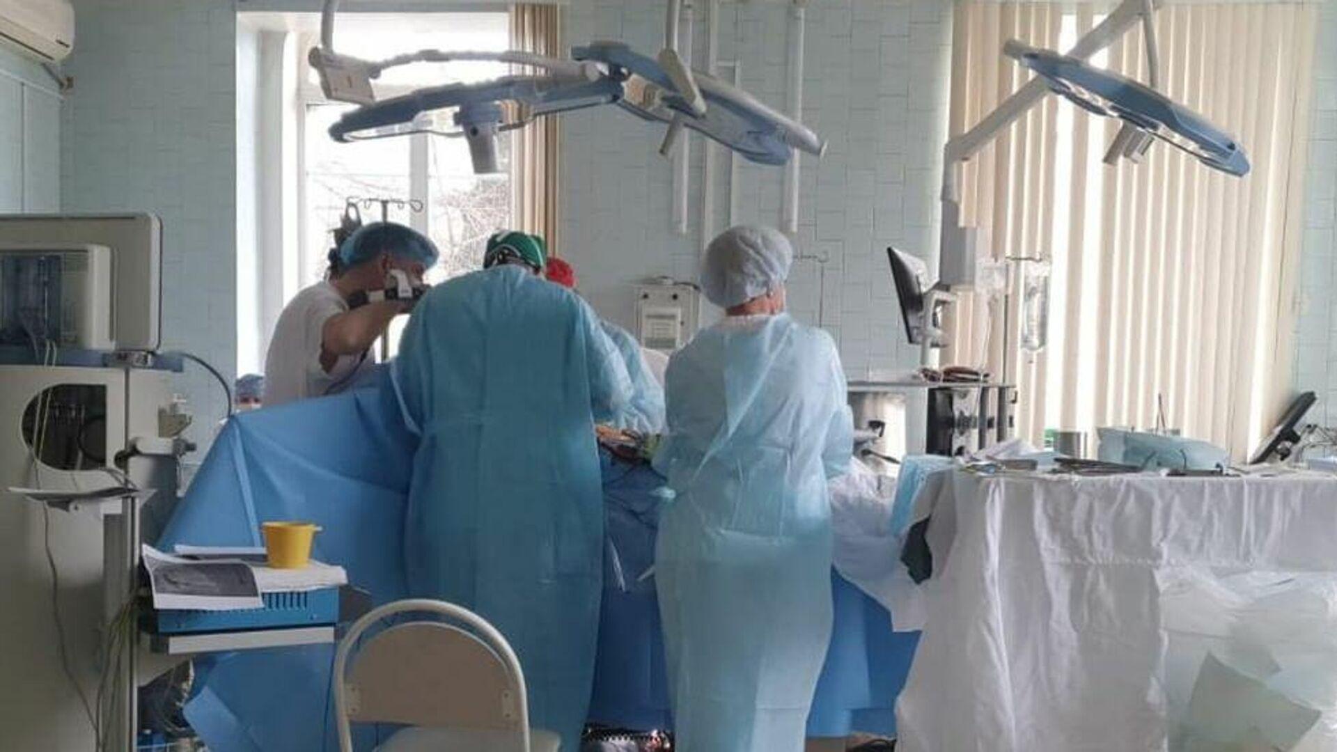 Иностранцев впечатлили российские врачи, проводившие операцию при пожаре