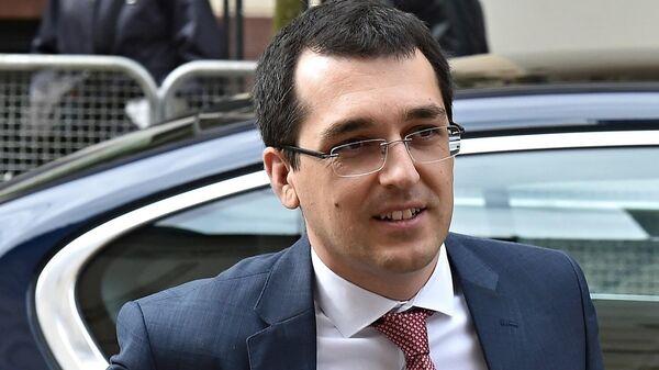 Министр здравоохранения Румынии Влад Войкулеску