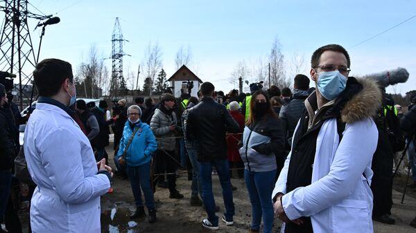 Ситуация у исправительной колонии № 2 в городе Покрове Владимирской области