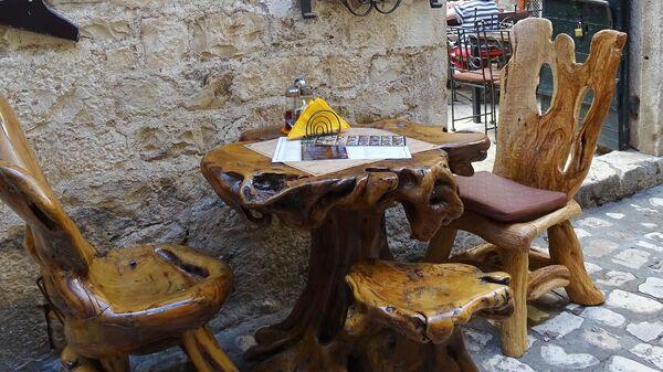 Кафе в Хорватии