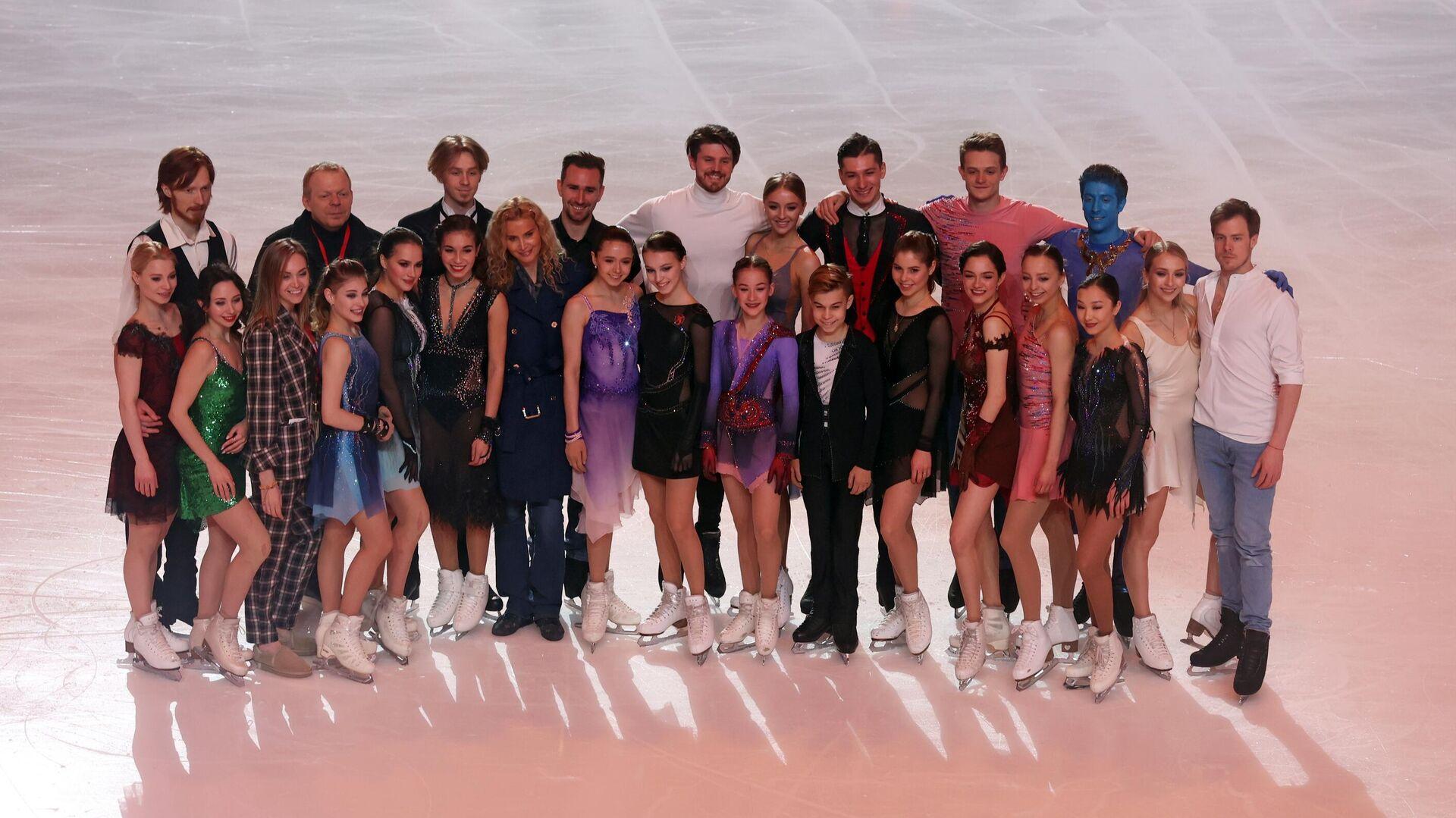 Участники шоу Team Tutberidze - РИА Новости, 1920, 06.04.2021