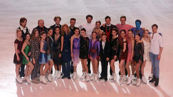 Участники шоу Team Tutberidze