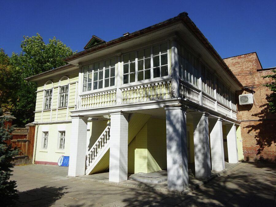 Музей истории города находится в доме семьи Ульяновых