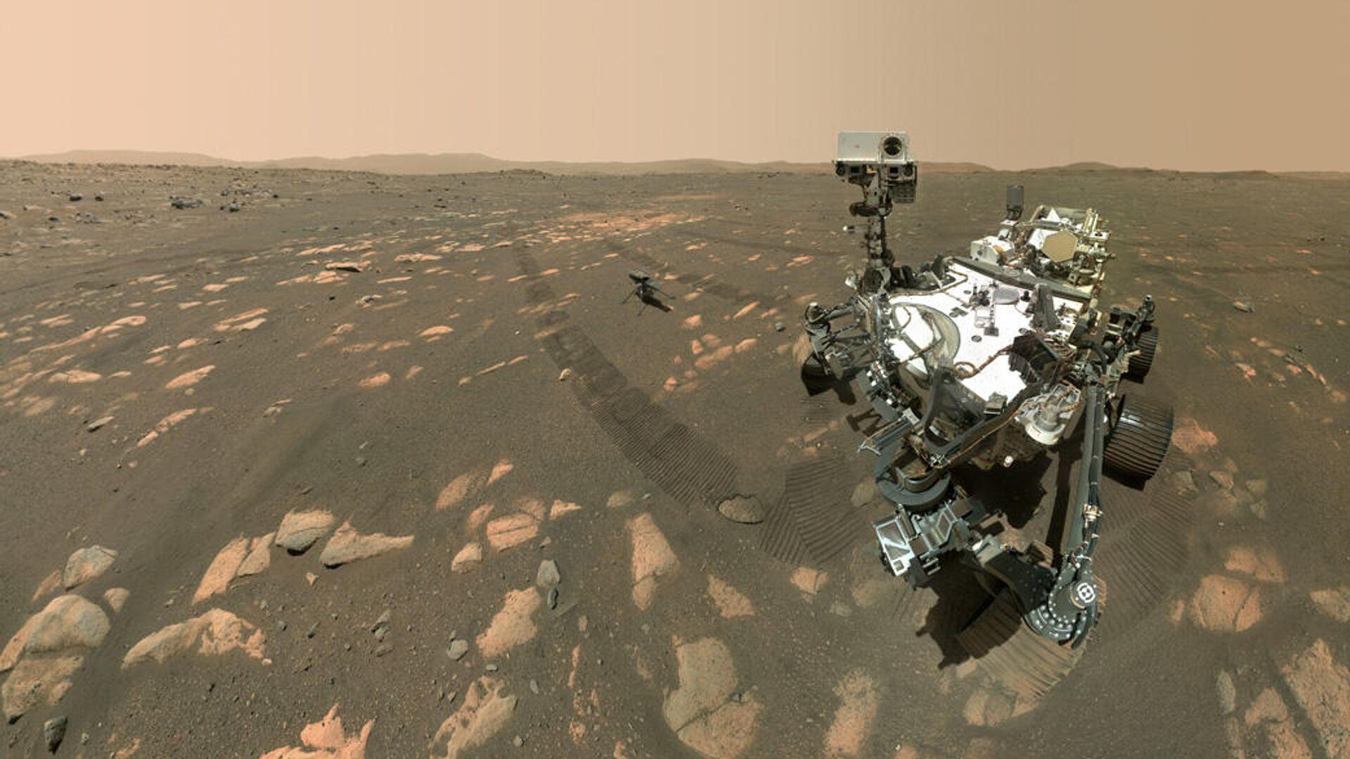 Беспилотный вертолет НАСА совершил первый полет на Марсе