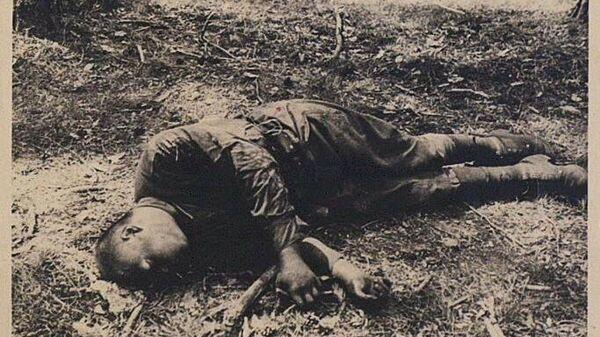 Архивный фотоснимок времен Великой Отечественной войны
