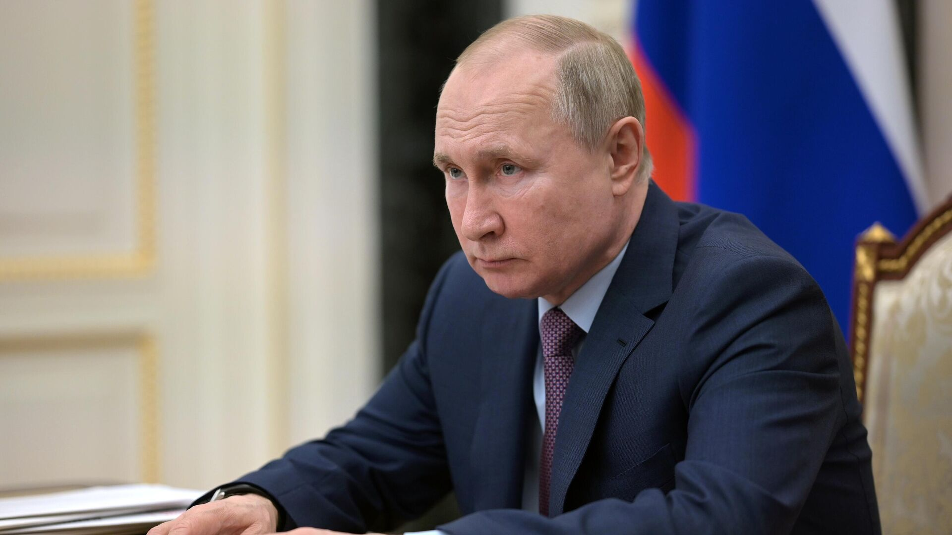 Президент РФ Владимир Путин - РИА Новости, 1920, 12.04.2021