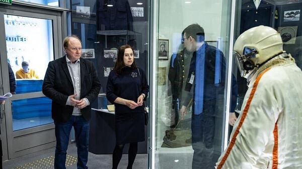Открытие Дома-музея имени Юрия и Валентины Гагариных в после реконструкции