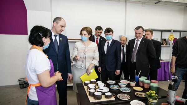 Открытие новой площадки Центра выявления и поддержки одаренных детей Гагарин