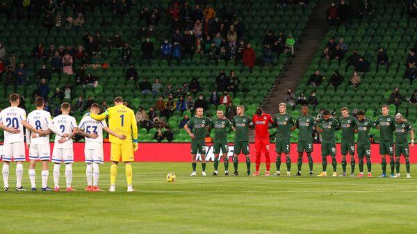 Игроки Краснодара и Динамо