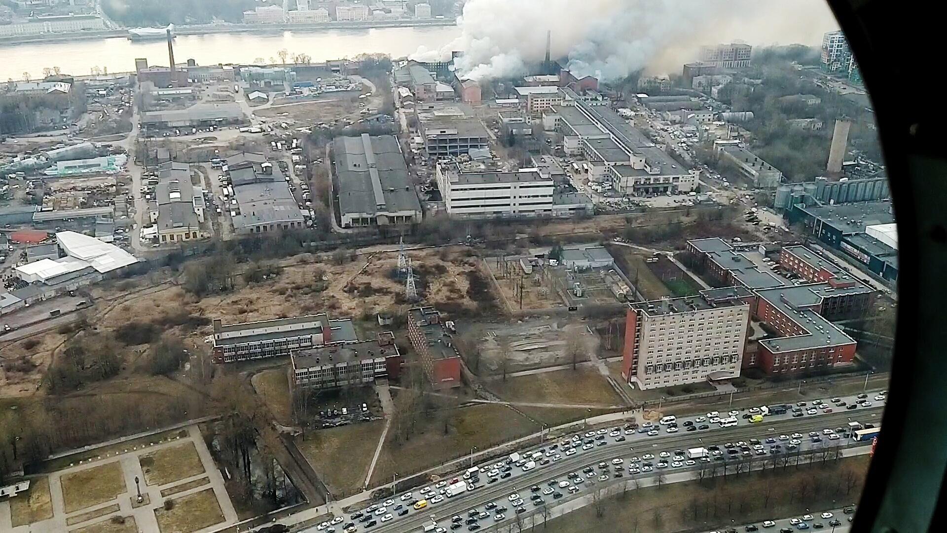 """Суд оштрафовал """"Невскую мануфактуру"""", где был крупный пожар, на миллион рублей"""
