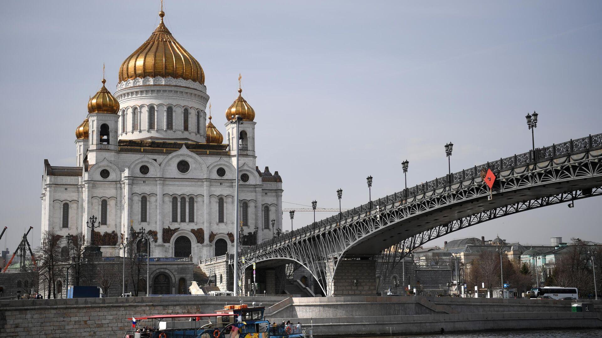 Храм Христа Спасителя в Москве - РИА Новости, 1920, 13.09.2021