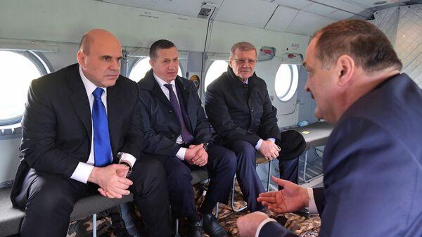 Рабочая поездка премьер-министра РФ Михаила Мишустина в Дагестан