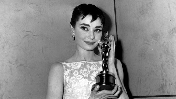 Одри Хепберн на Оскаре 1954