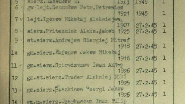 Минобороны доказало ложь Польши о мемориале советским воинам в Тшчанке