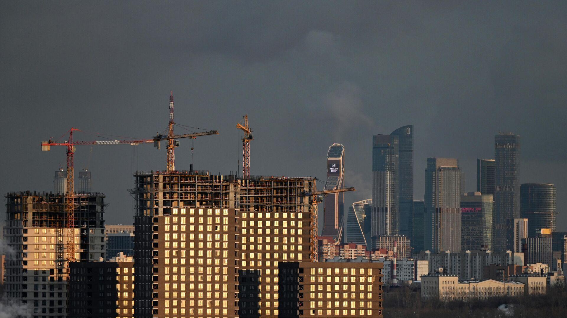 Строительство жилья - РИА Новости, 1920, 11.05.2021