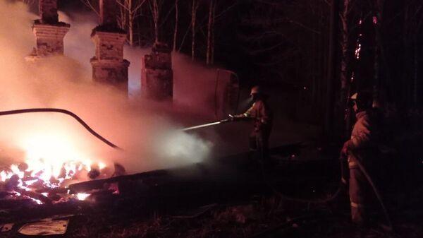 Пожар в Советском районе Кировской области
