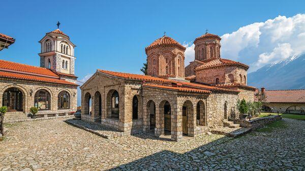 Монастырь Святого Наума в Северной Македонии