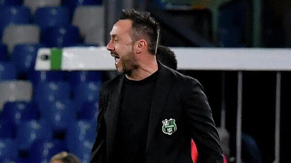 Главный тренер Сассуоло Роберто де Дзерби