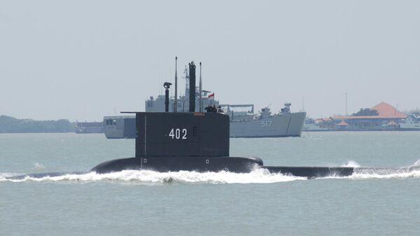 Подводная лодка ВМС Индонезии KRI Nanggala-402
