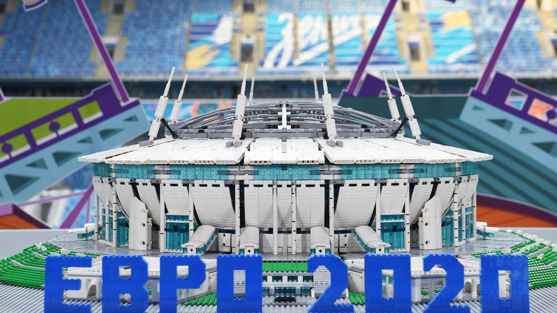 Макет футбольного стадиона Зенит-Арена - РИА Новости, 1920, 23.04.2021