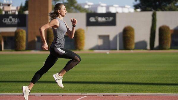 Российская и турецкая легкоатлетка Екатерина Гулиева (Поистогова)