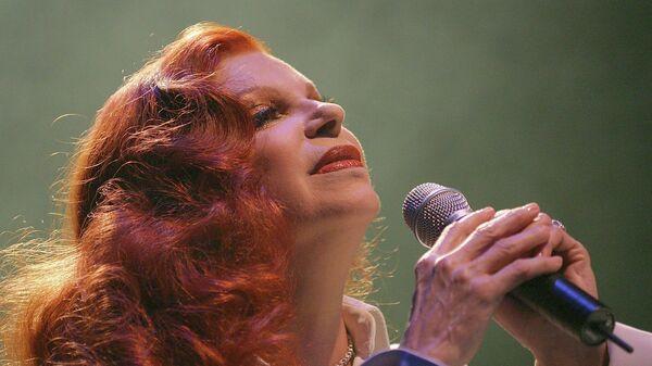 Итальянская певица Мильва