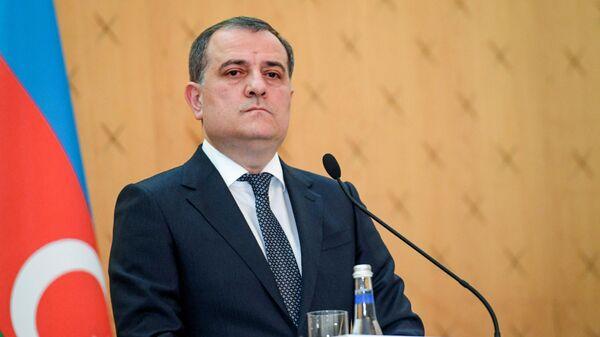 Министр иностранных дел Азербайджана Джейхун Байрамов