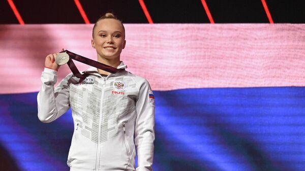 Гимнастка Ангелина Мельникова (Россия)