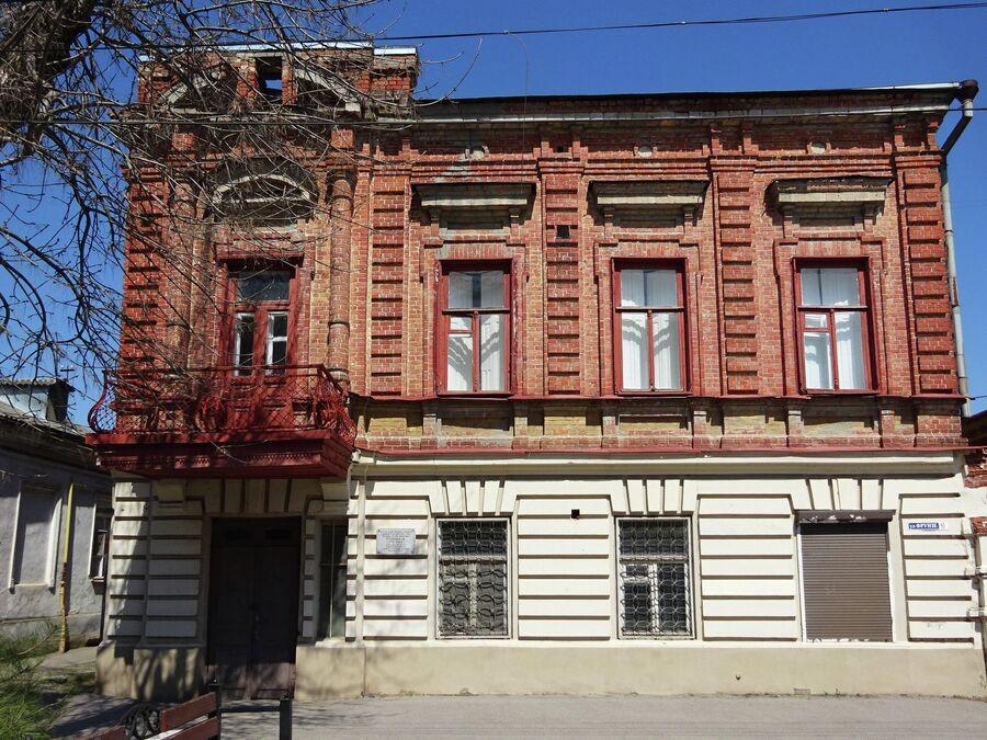 Дом Фельдманов - тот самый, в котором жила будущая актриса Фаина Раневская