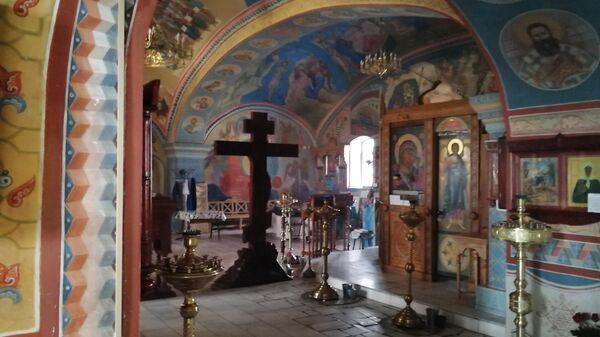 Росписи церкви успения Богородицы усадьбы Демьяново