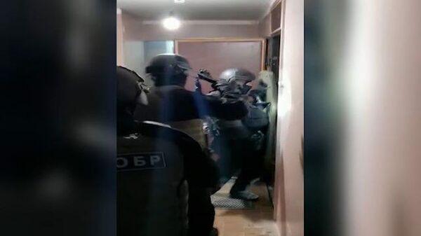 Задержание украинских неонацистов в российских городах. Кадры ФСБ