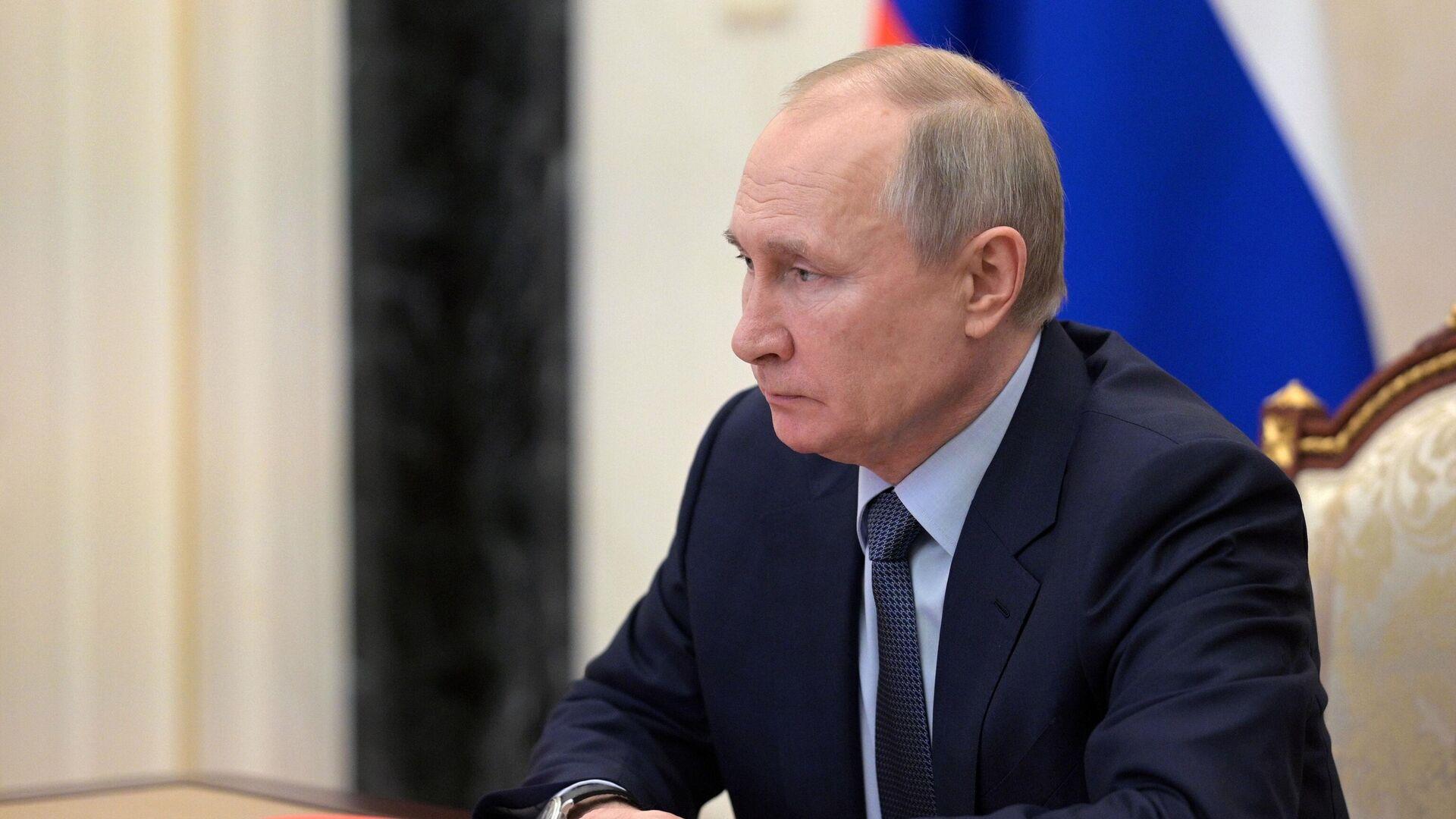Путин рассказал о российских проектах в Каспийском регионе