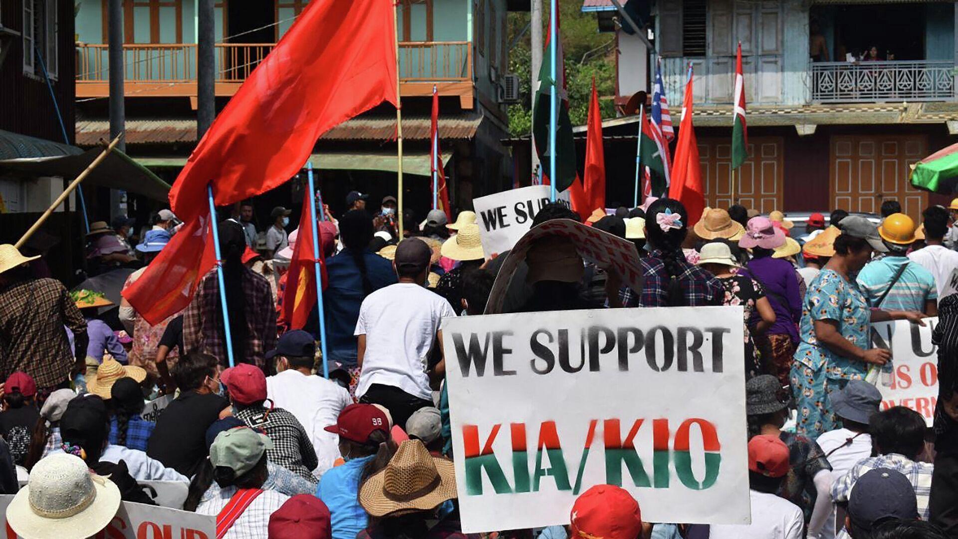 Подпольное правительство Мьянмы заявило о создании альтернативной армии