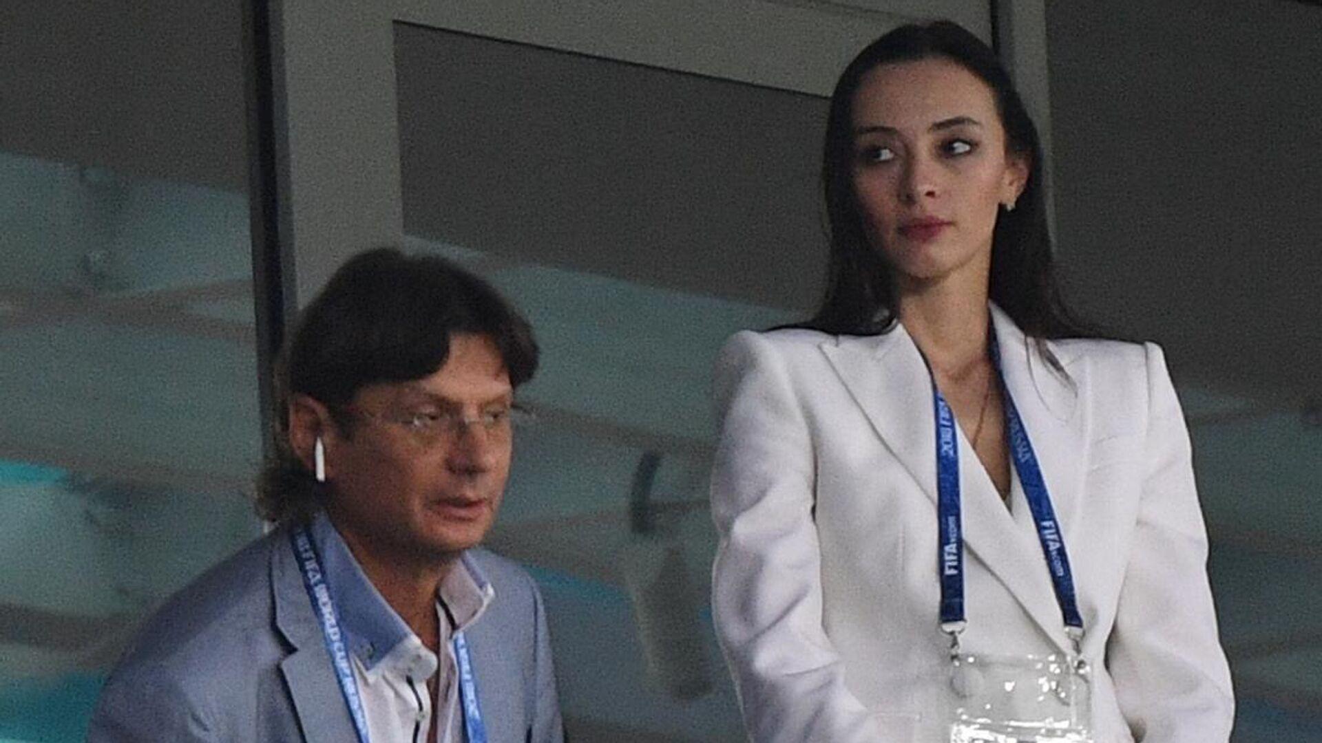 Зарема Салихова и Леонид Федун - РИА Новости, 1920, 03.05.2021