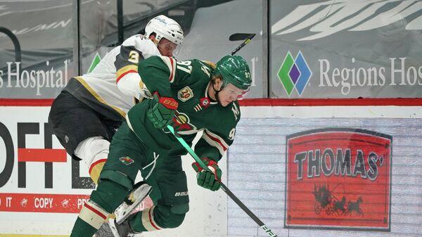 Игровой момент матча НХЛ Миннесота - Вегас